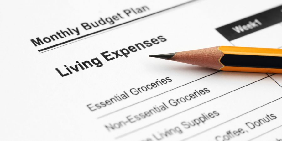 WEB PIC - BUDGETING LIST WITH PENCIL